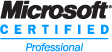 Logo: Microsoft Certified Professional