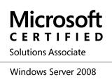 Logo: Microsoft Certified Solutions Associate