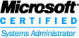 Logo: Microsoft Certified Systems Administrator