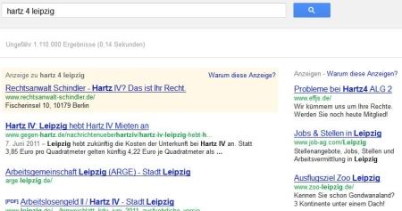 Google Suche nach